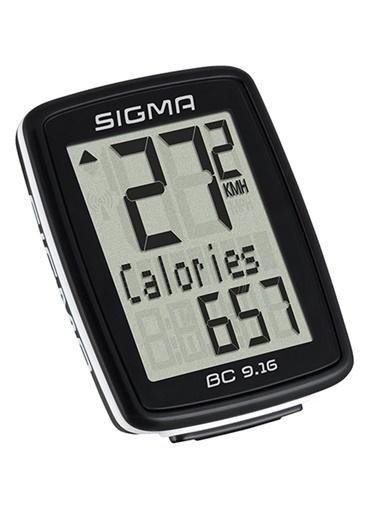 Sigma Sigma Km Saati Bc 9.16 Kablolu Siyah  Siyah